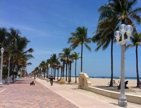 Hollywood Beach Boardwalk